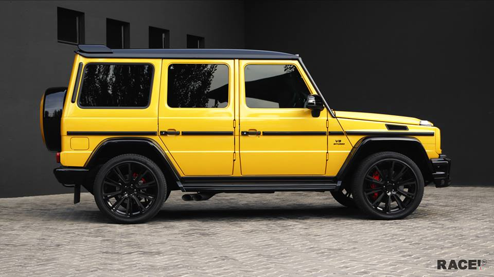 Crazy Color Mercedes G63 Amg By Race