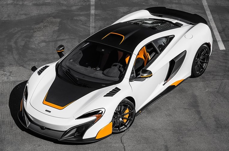 Spotlight Super Unique Mclaren 675lt Mso
