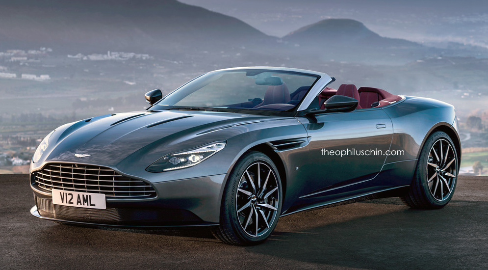Aston Martin Db11 Volante New Rendering