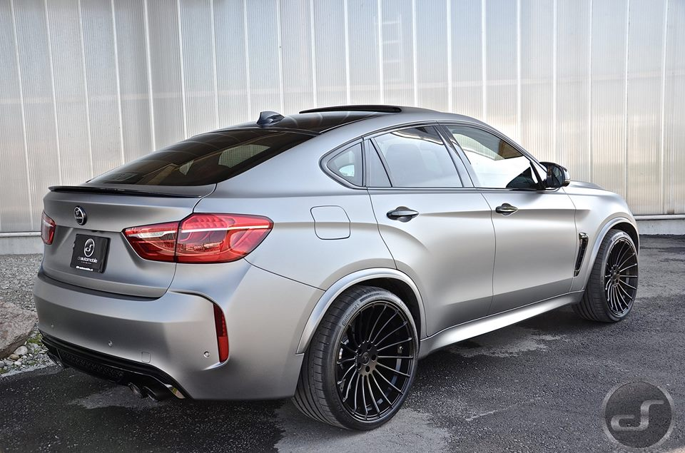 Stealthy Bmw X6m By Ds Automobile