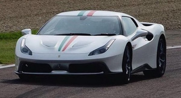 Ferrari 488 Prototype 2 600x326 at Mysterious Ferrari 488 Prototype Spied in Maranello