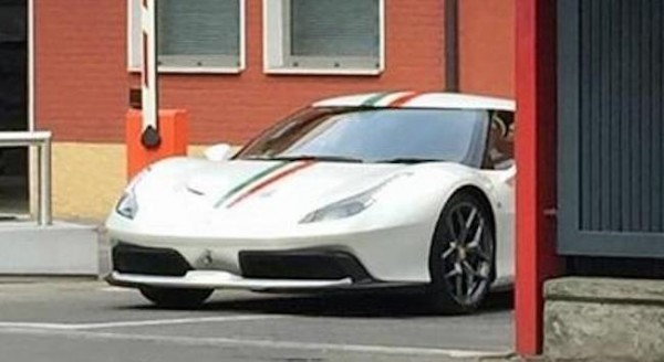 Ferrari 488 Prototype 3 600x328 at Mysterious Ferrari 488 Prototype Spied in Maranello