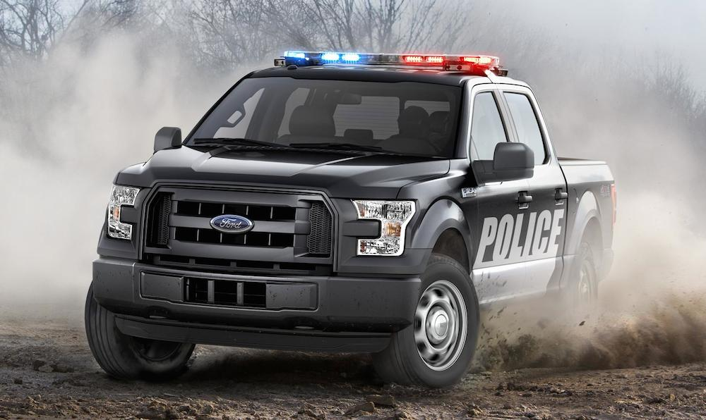 Ford F150 Special Service Vehicle Unveiled  Motorward