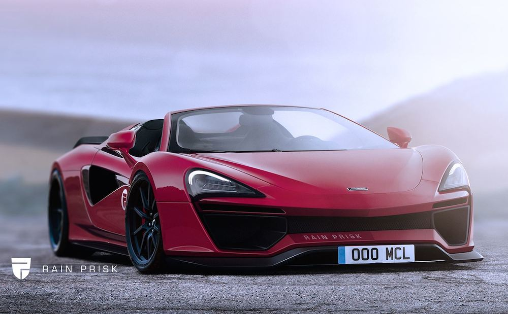 Build It Now Mclaren 570 Spider Wide Body