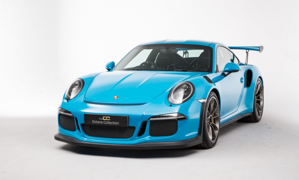 Porsche 991 Gt3 Rs Looks Killer In Miami Blue