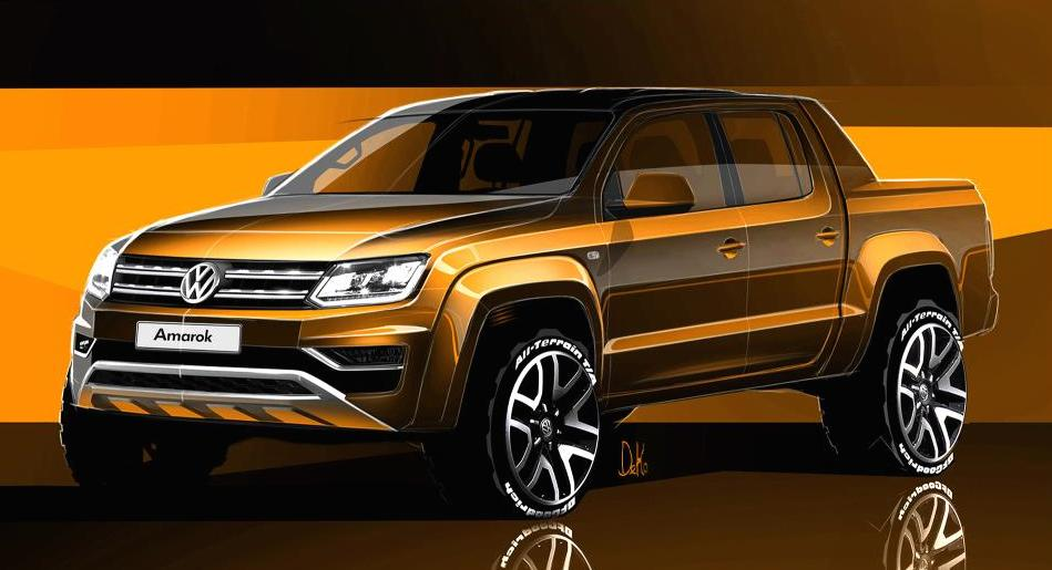 New VW Amarok Previewed in Official Renderings