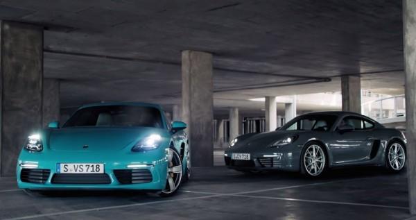 Porsche 718 Cayman Promo