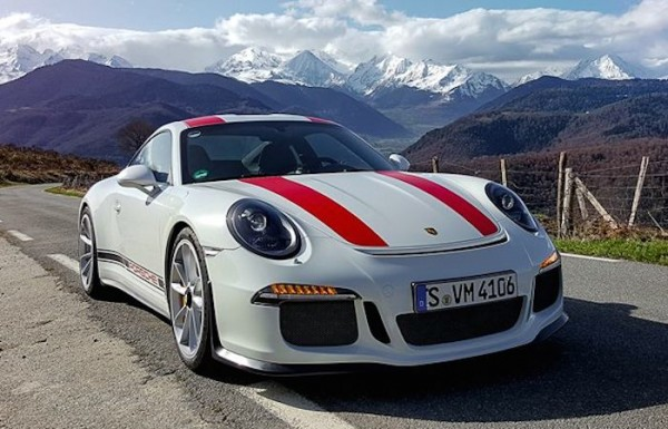 porsche 911 r tackles tour de france route. Black Bedroom Furniture Sets. Home Design Ideas