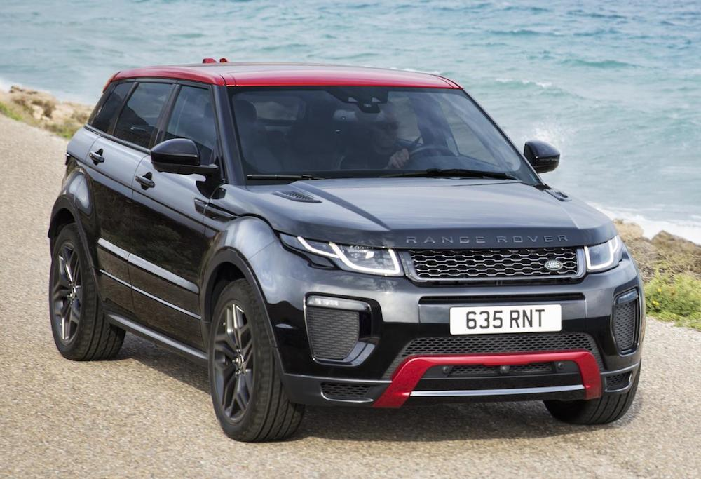 official range rover evoque ember edition. Black Bedroom Furniture Sets. Home Design Ideas