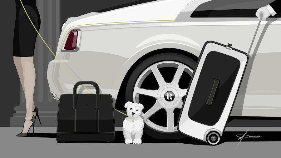 rolls royce wraith luggage collection costs as much as a car. Black Bedroom Furniture Sets. Home Design Ideas