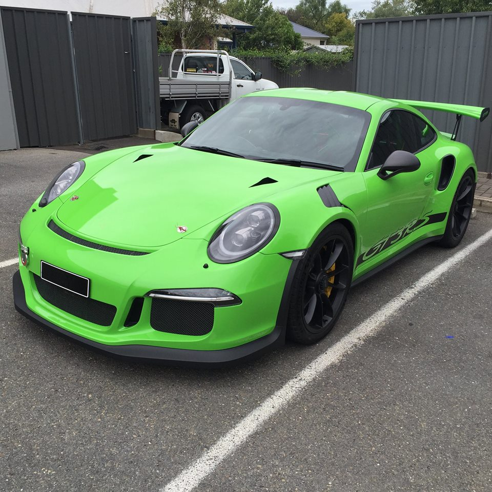 Porsche 911 Gt3: Techart Porsche 991 GT3 RS Looks Good In Green