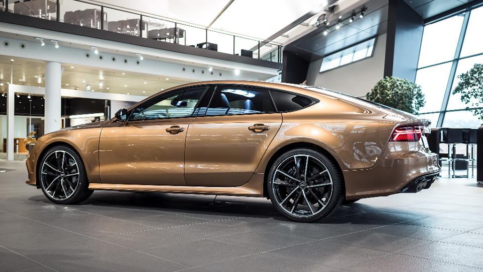 Zanzibar Brown Audi Rs7 By Audi Exclusive
