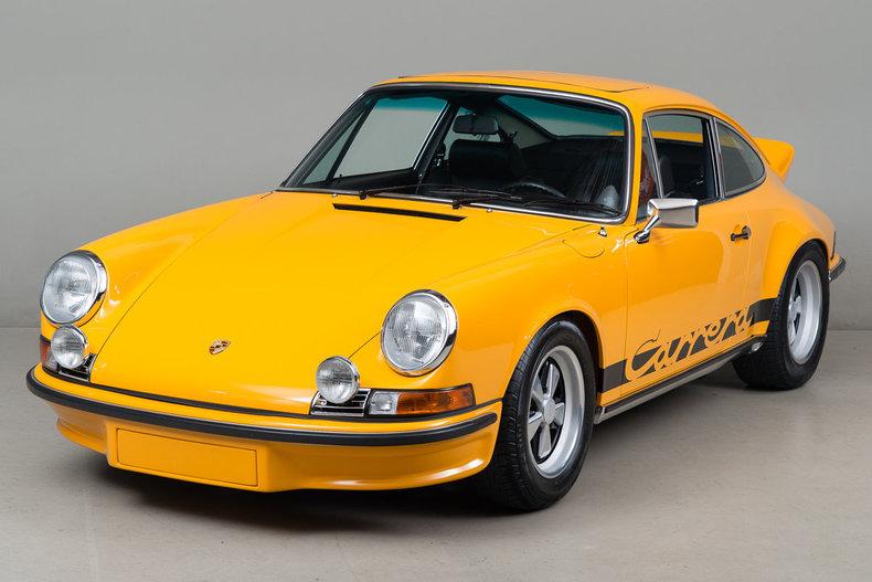 Wunderbar 1973 Porsche 911 Carrera Rs 2 7