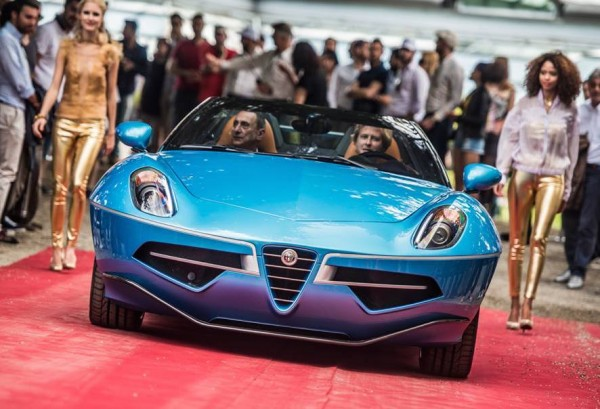 Alfa Romeo Disco Volante Spyder-ss