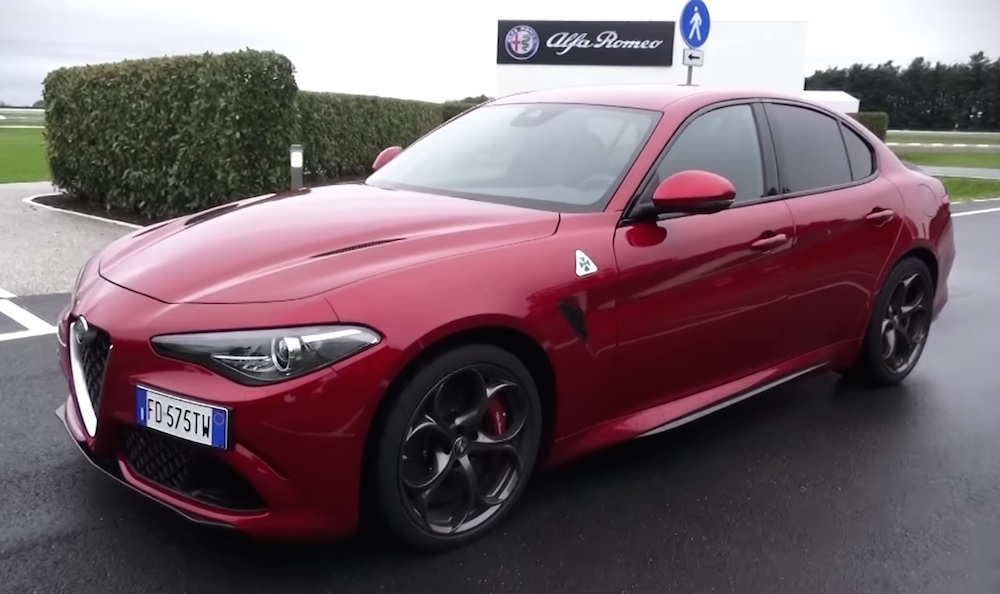 Alfa Romeo Giulia Quadrifoglio Review by Shmee150 - Motorward T L Jaguar