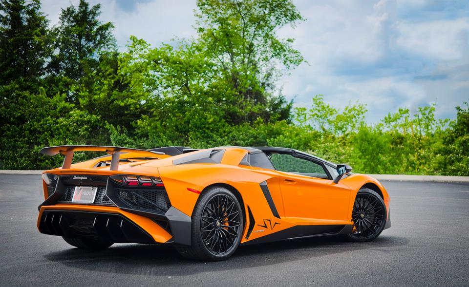 Arancio Ishtar Lamborghini Aventador Sv Roadster Listed For 800k