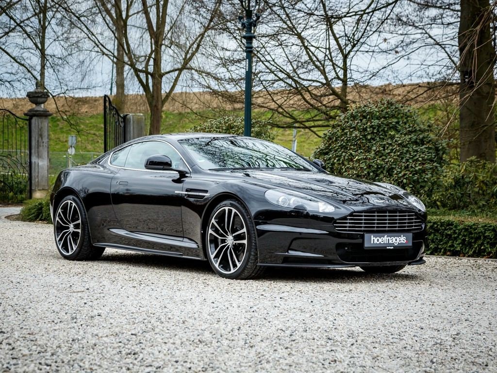 Aston Martin DBS Carbon Black Spotted For Sale
