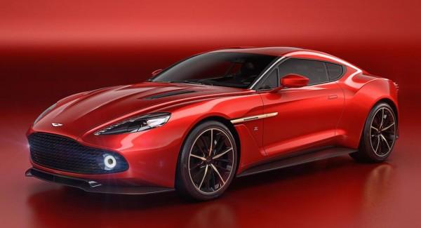 Aston Martin Vanquish Zagato Unveiled at Villa d'Este