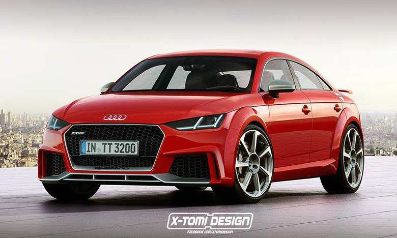 Four Door Audi Tt Rs Sportback Rendered
