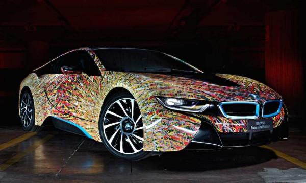 BMW i8 Futurism Edition 600x358 at BMW i8 Futurism Edition Headed to Mille Miglia 2016