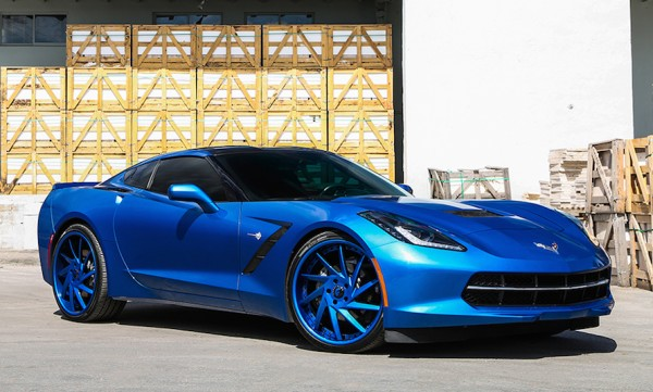 Blue on Blue Corvette-0
