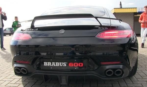 Brabus Mercedes AMG GT S 600-vid