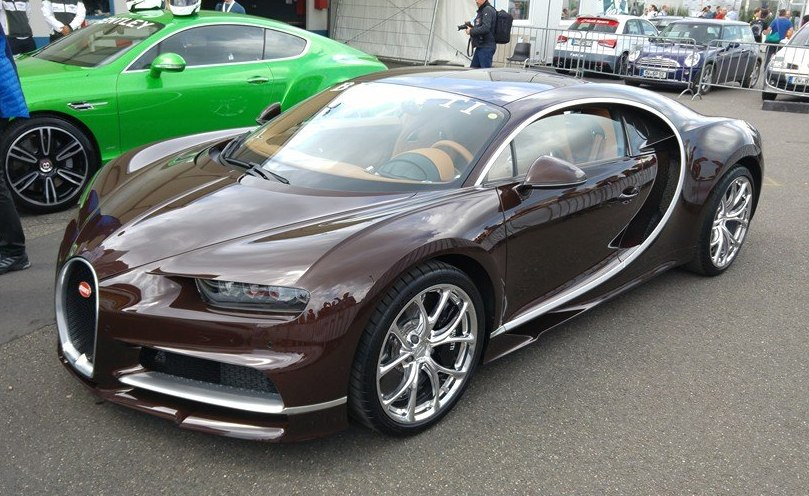 Brown Bugatti Chiron Sighted At The Nurburgring
