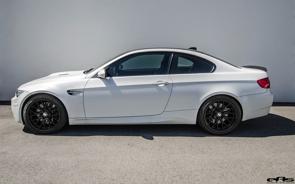 Blast From The Past Frozen White Bmw M3 E92