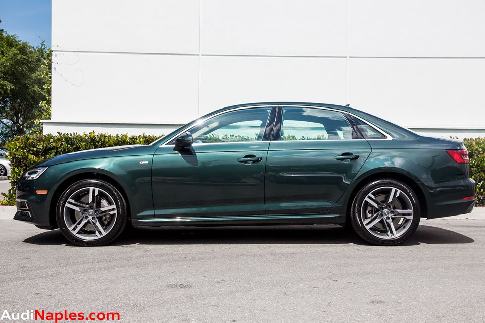 Gotland Green Audi A4 Is Not For Your Average Cement Salesman