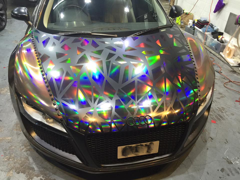 Holographic Audi R8 By Impressive Wrap