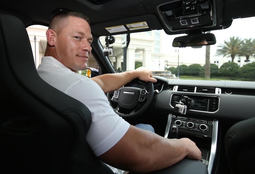 John Cena Invictus Games 0 at John Cena Becomes a Chauffeur at Invictus Games