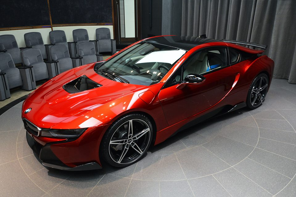 Bmw I8 Parts >> One-Off Lava Red BMW i8 from Abu Dhabi