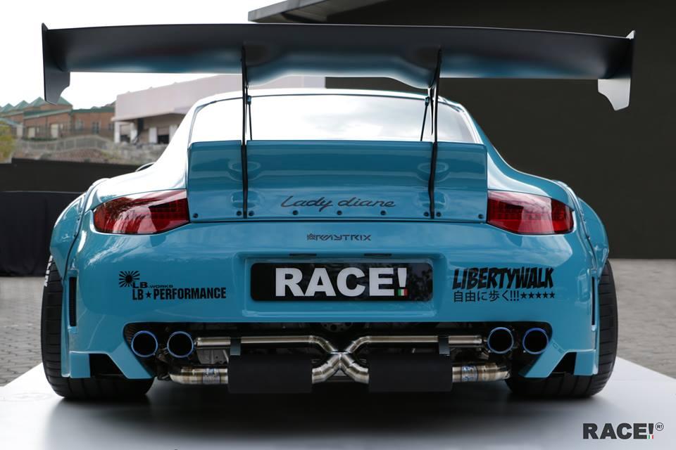 Liberty Walk Porsche 997 By Race South Africa
