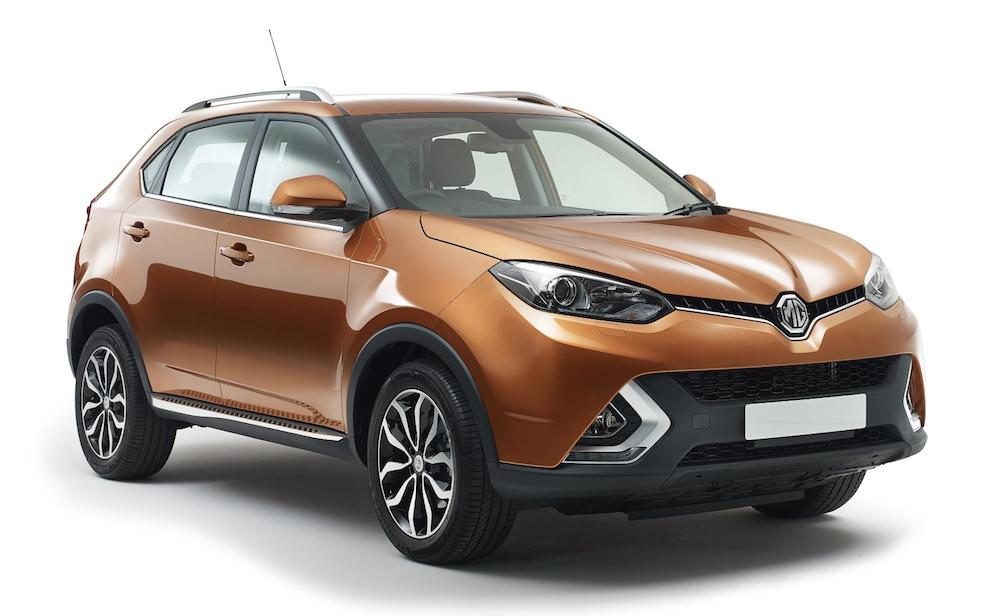 MG GS first at First Look: MG GS SUV