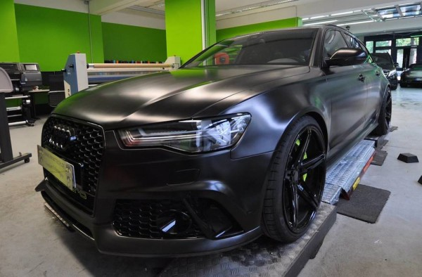 MTM Audi RS6 Black 0 600x394 at This MTM Audi RS6 Is the Blackest Car in the World!
