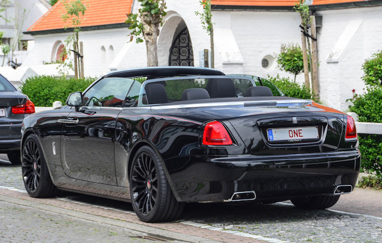 Mansory Rolls Royce Dawn Spotted In Belgium