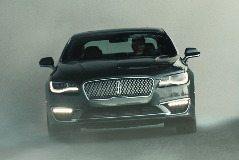 McConaughey Lincoln MKZ at Matthew McConaughey Stars in New Lincoln MKZ Ads