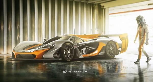 McLaren LMP1 P1