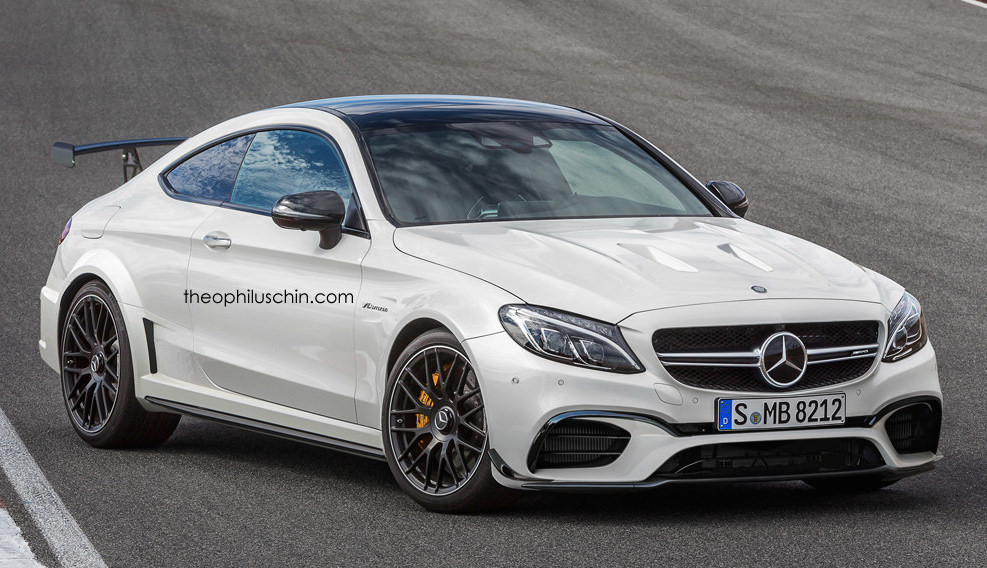 Rendering mercedes amg c63 coupe black series for Mercedes benz c63 amg coupe 2016