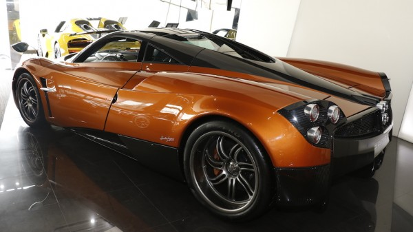 Orange Carbon Pagani Huayra-0