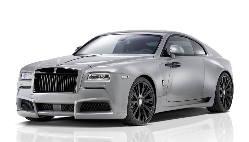 Spofec Rolls Royce Wraith Gets A New Look