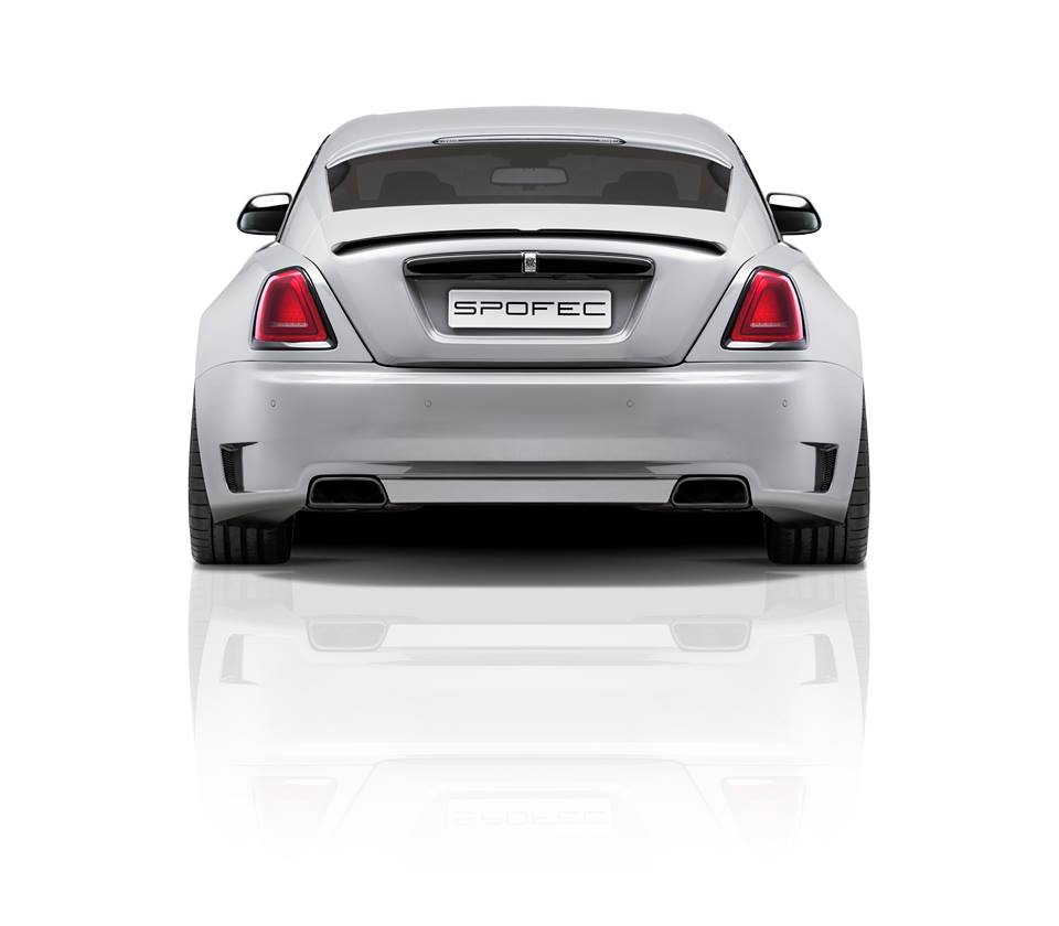 SPOFEC Rolls-Royce Wraith Gets A New Look