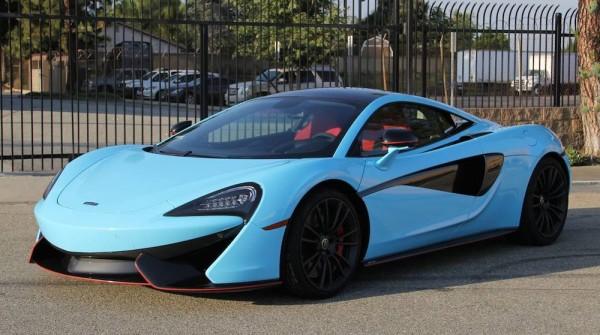 Sky Blue McLaren 570S-0