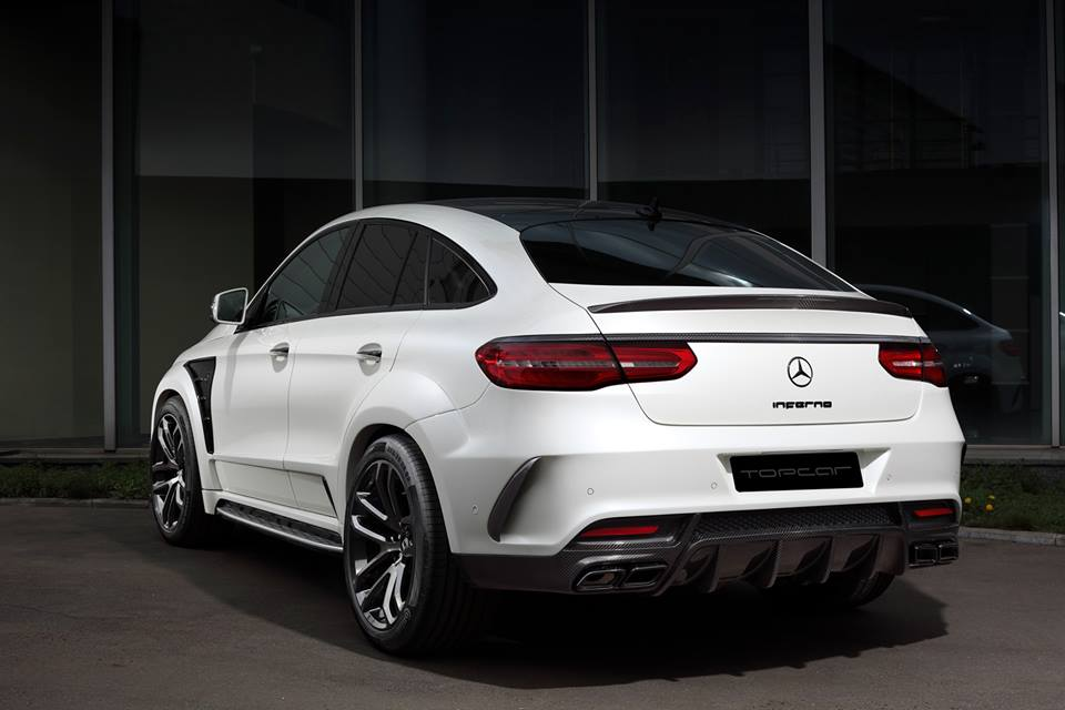 topcar mercedes gle coupe inferno carbon. Black Bedroom Furniture Sets. Home Design Ideas