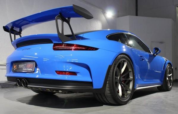 Voodoo Blue Porsche 991 GT3 RS 0 600x384 at Voodoo Blue Porsche 991 GT3 RS Looks Magical
