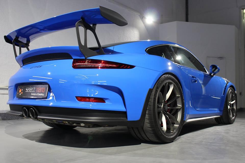 Voodoo Blue Porsche 991 Gt3 Rs Looks Magical