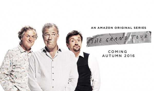 Clarkson, Hammond and May's New Show Named the Grand Tour