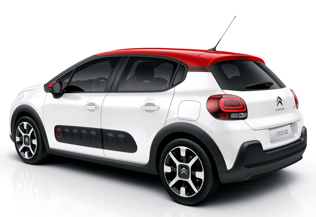 2017 citroen c3 revealed with super funky design. Black Bedroom Furniture Sets. Home Design Ideas