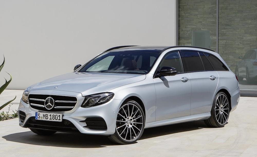 Official 2017 Mercedes E Class Wagon