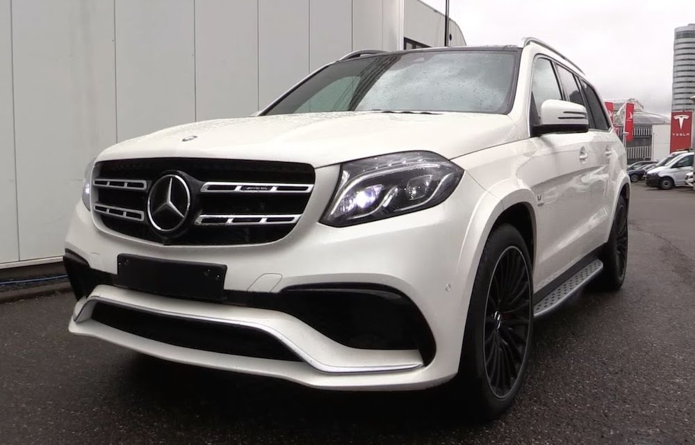 Sights and sounds 2017 mercedes gls63 amg for Mercedes benz amg 2017